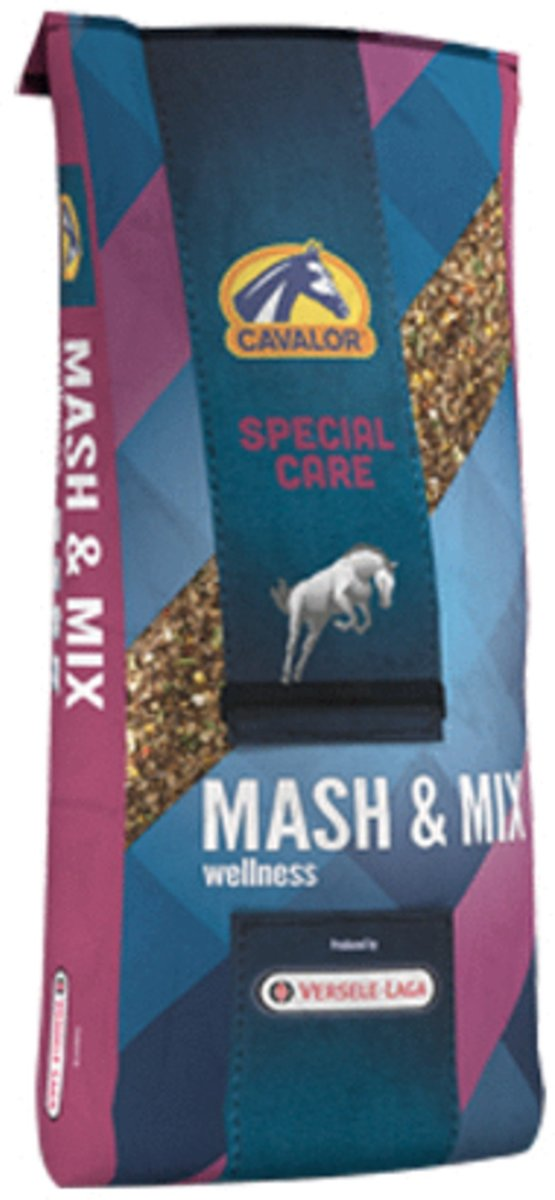 Cavalor Mash & Mix Met 5 Euro Waardebon - Paardenvoer - 15 kg Promo