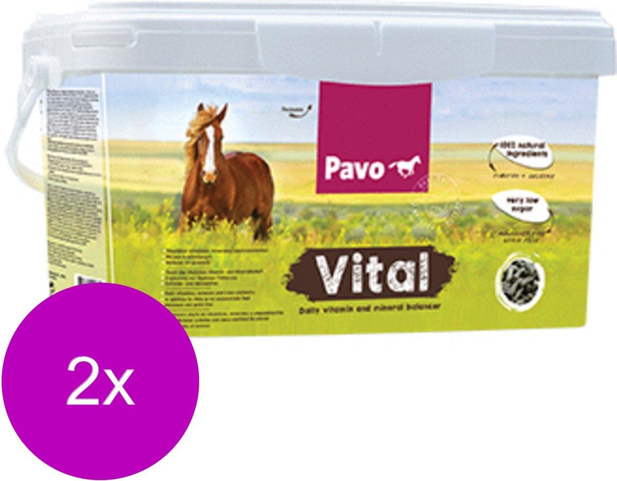 Pavo Vital - Voedingssupplement - 2 x 8 kg