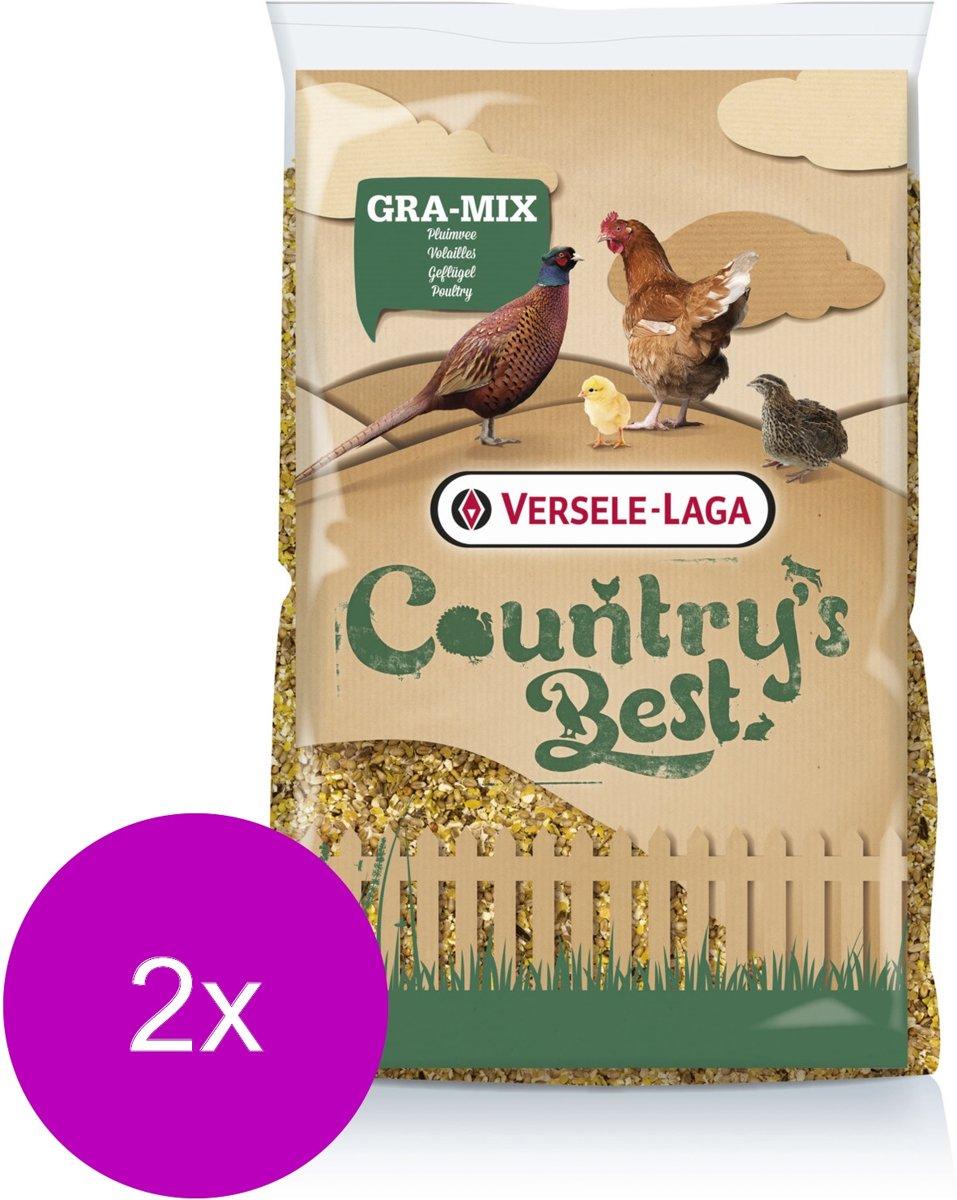 Versele-Laga Country`s Best Gra-Mix Kuiken- & Kwartelgraan - Kippenvoer - 2 x 20 kg