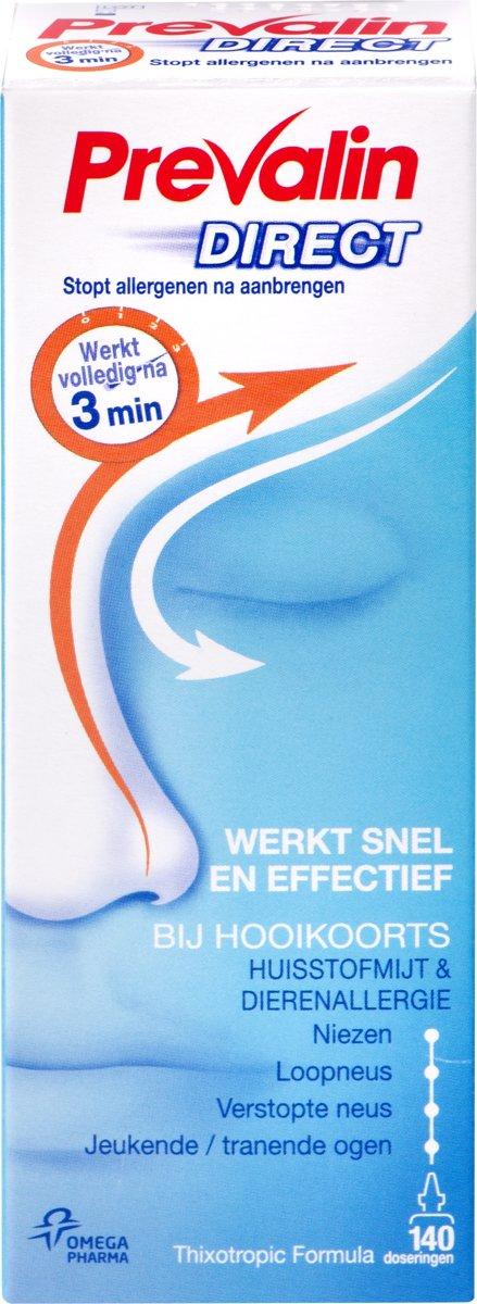 Prevalin Spray Direct - Bij Hooikoorts - Neusspray - 20ml
