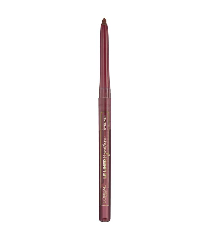 Le Liner Signature eyeliner in krijt 03 Rouge Noir Angora 1pc.