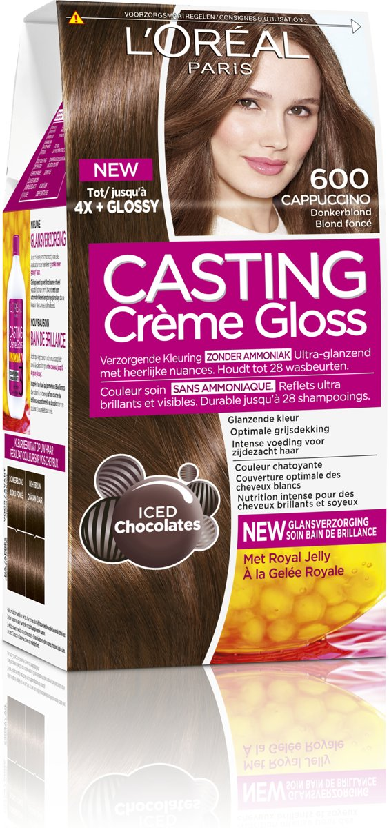 L'Oreal Paris Casting cr?me Gloss Haarverf - 600 Donkerblond
