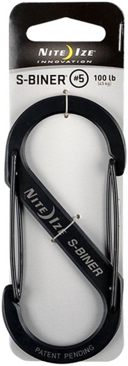 NITE IZE S-Biner Size #5 - Black