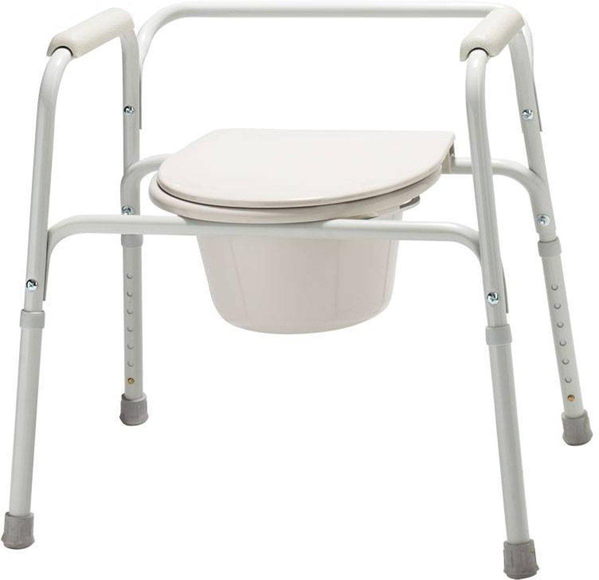 Toilet overzetstoel en commode