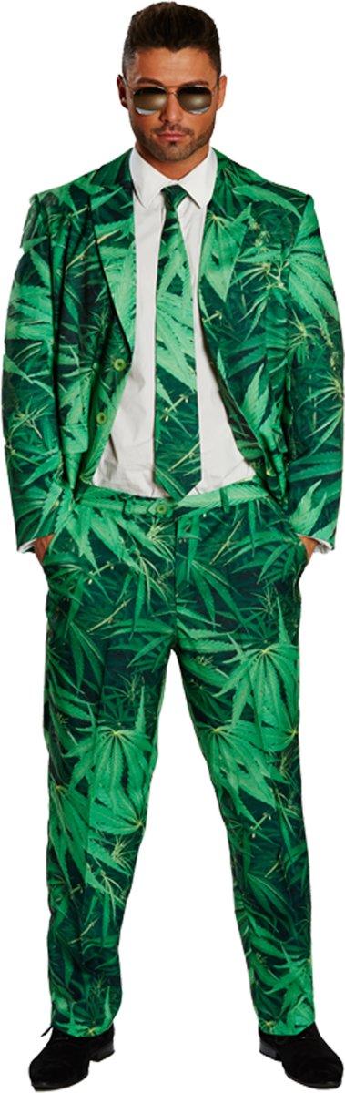 Wietpak - Kostuum Volwassenen - Maat XL - 58 - Carnavalskleding