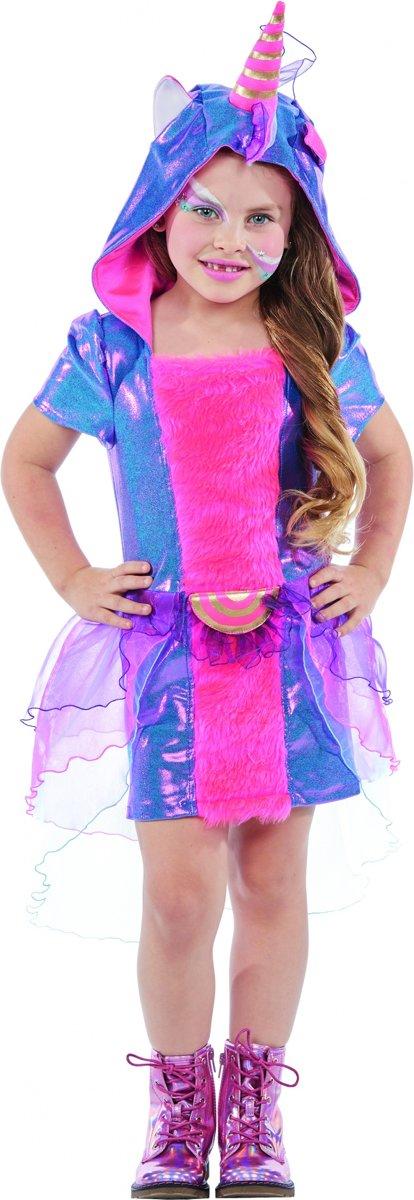 Eenhoorn kostuum - meisjes - maat 104 - Carnavalskleding