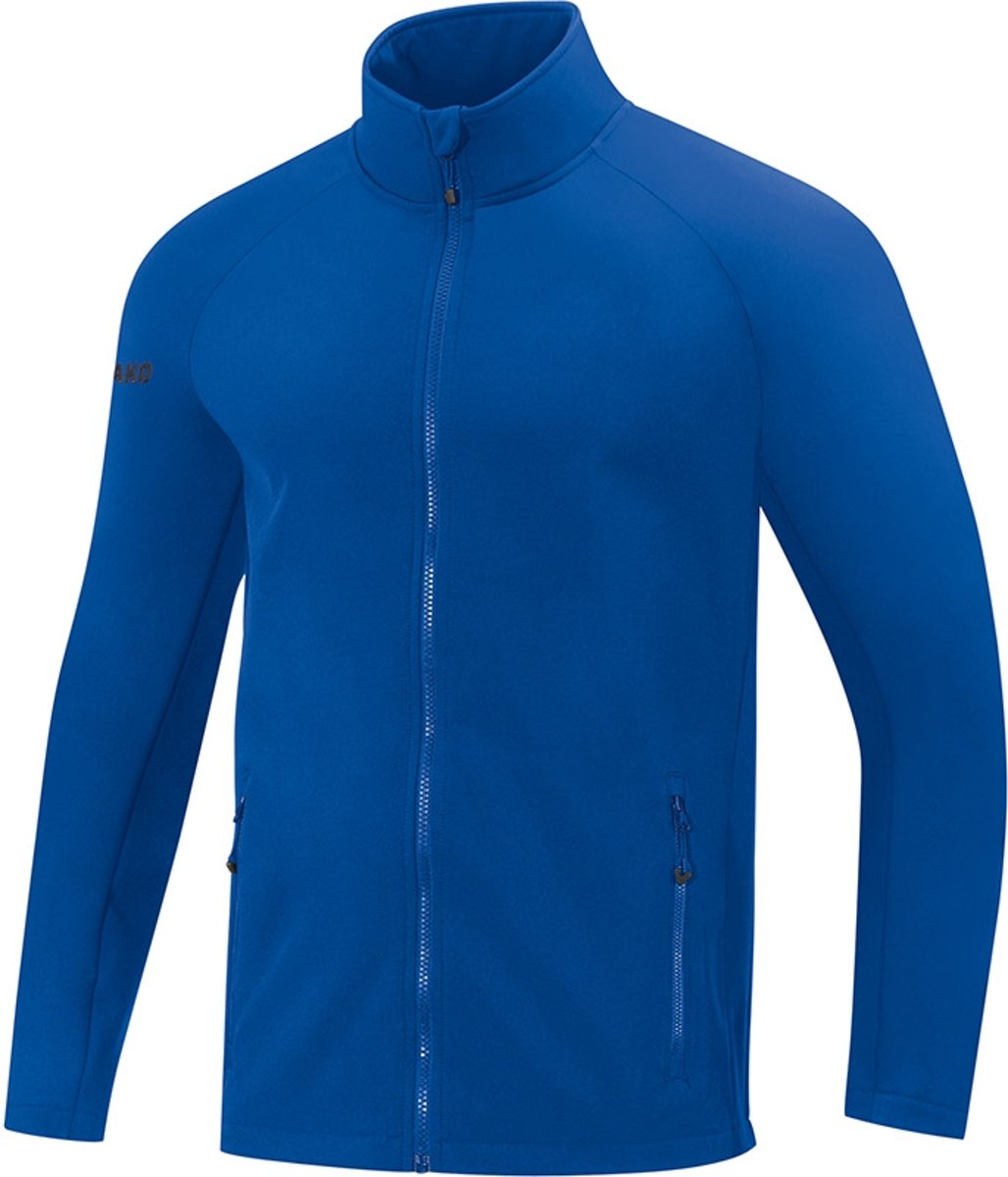 Jako Team Dames Softshell Jas - Softshelljassen  - blauw - 38