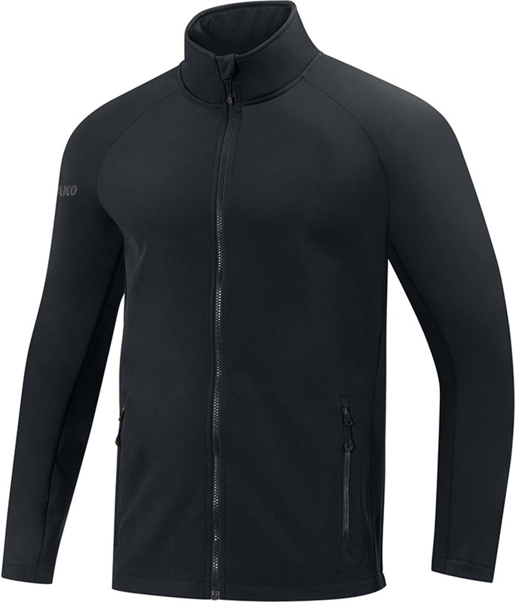 Jako Team Dames Softshell Jas - Softshelljassen  - zwart - 38