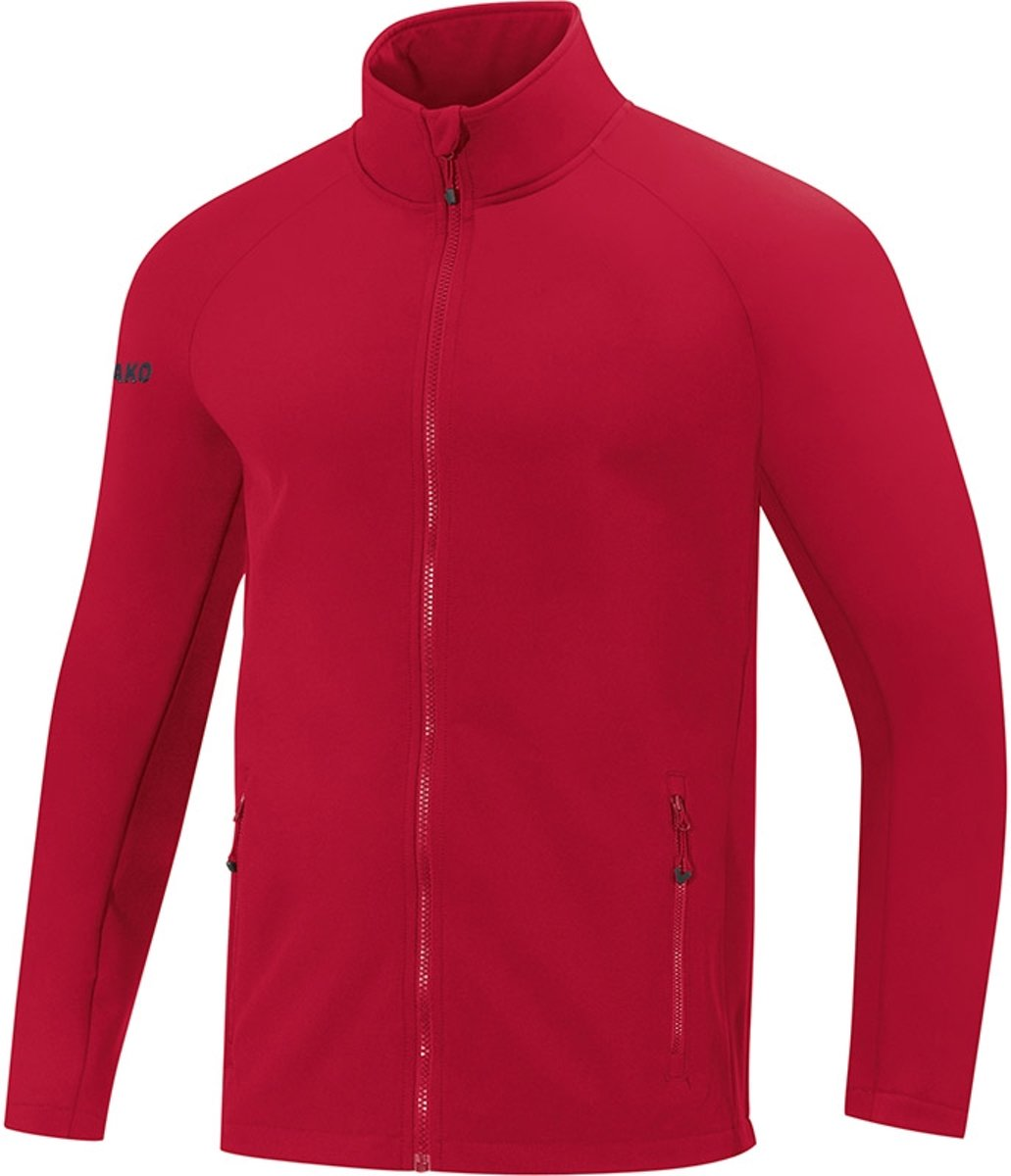 Jako Team Dames Softshell Jas - Softshelljassen  - rood - 44