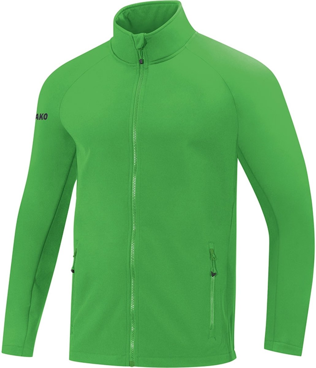 Jako Team Dames Softshell Jas - Softshelljassen  - groen - 40