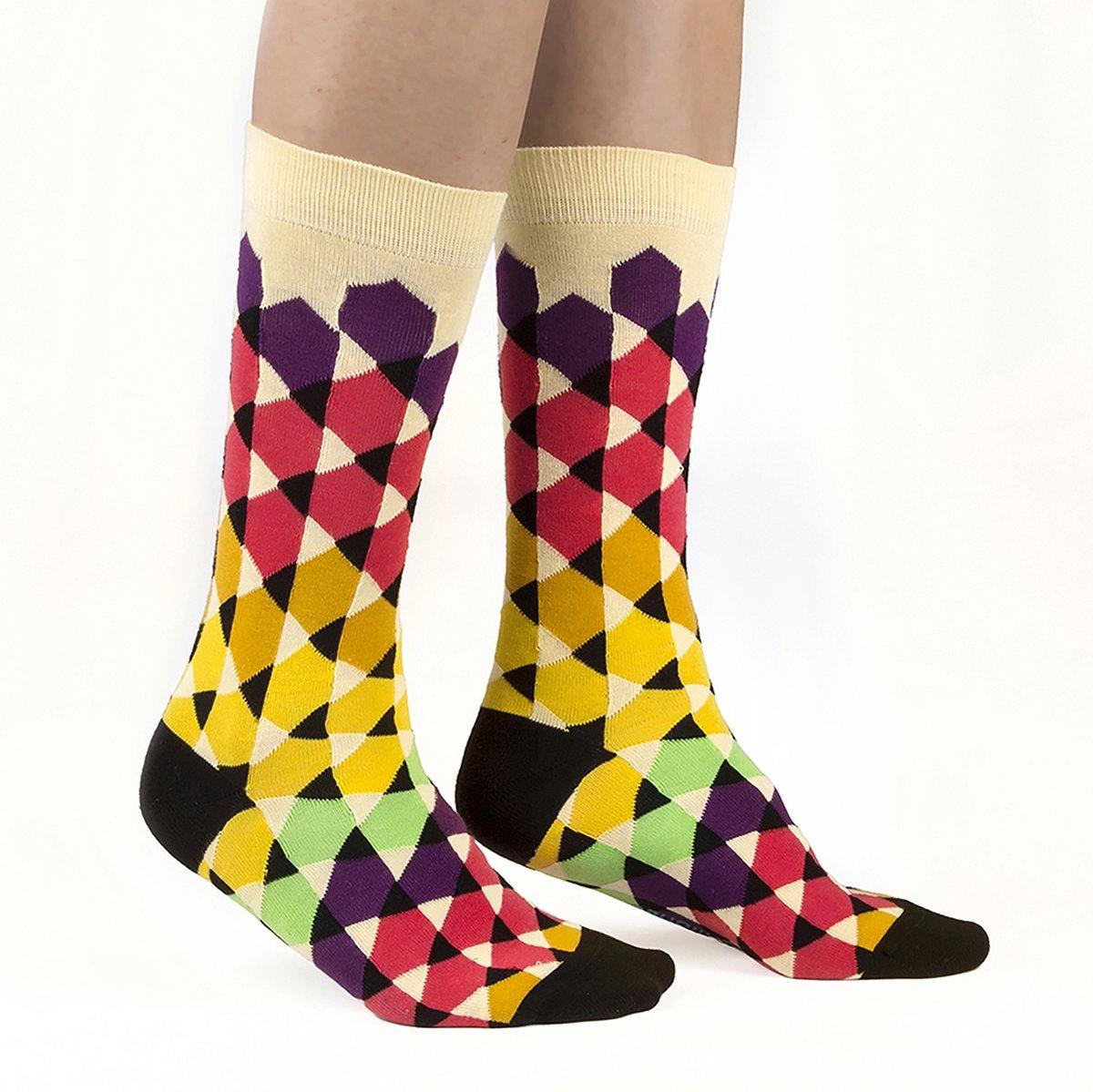 Ballonet Socks - Play / maat 41/46 - vrolijke kleurrijke sokken