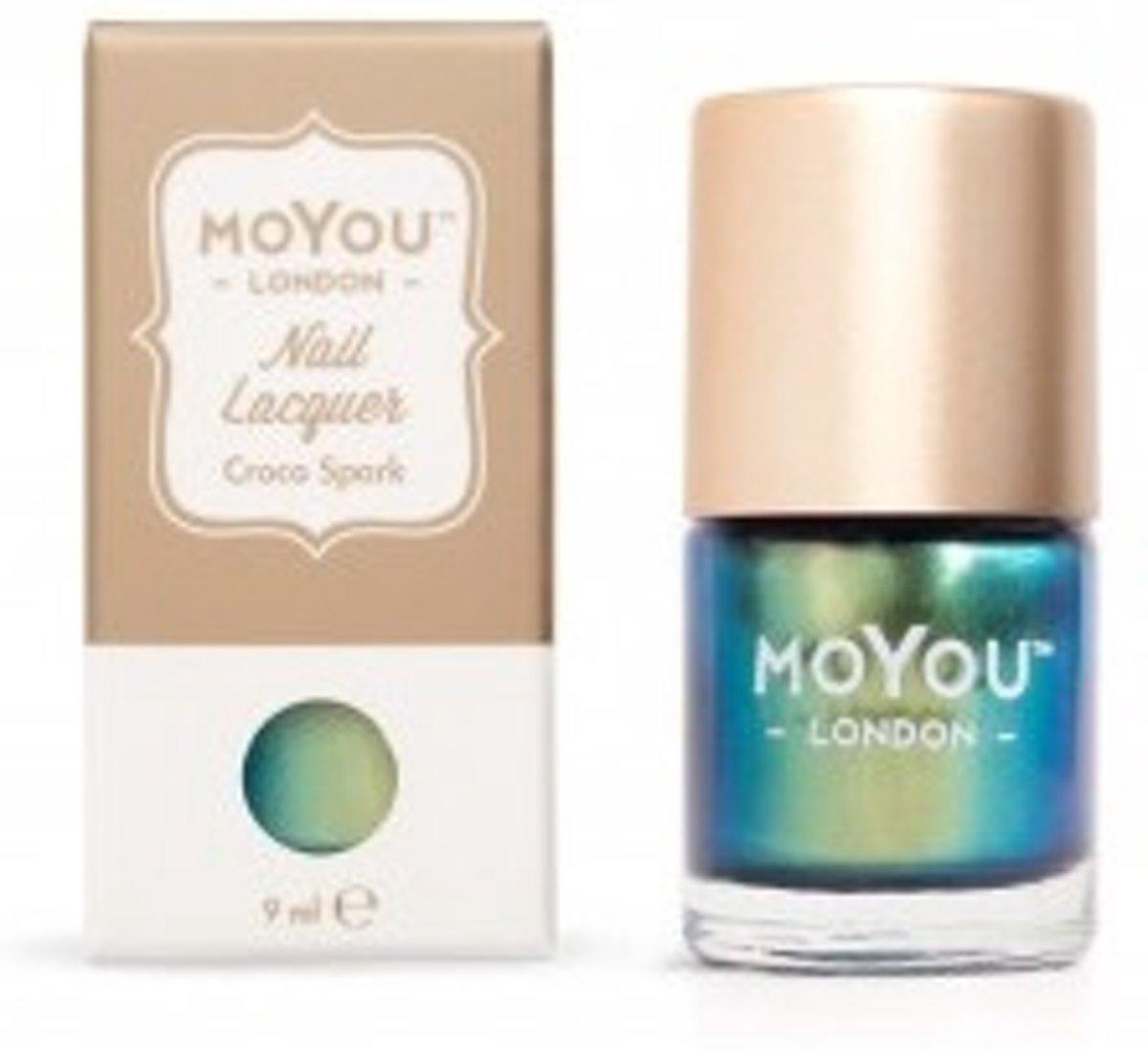 MoYou London Stempel Nagellak - Stamping Nail Polish 9ml. - Croco Spark