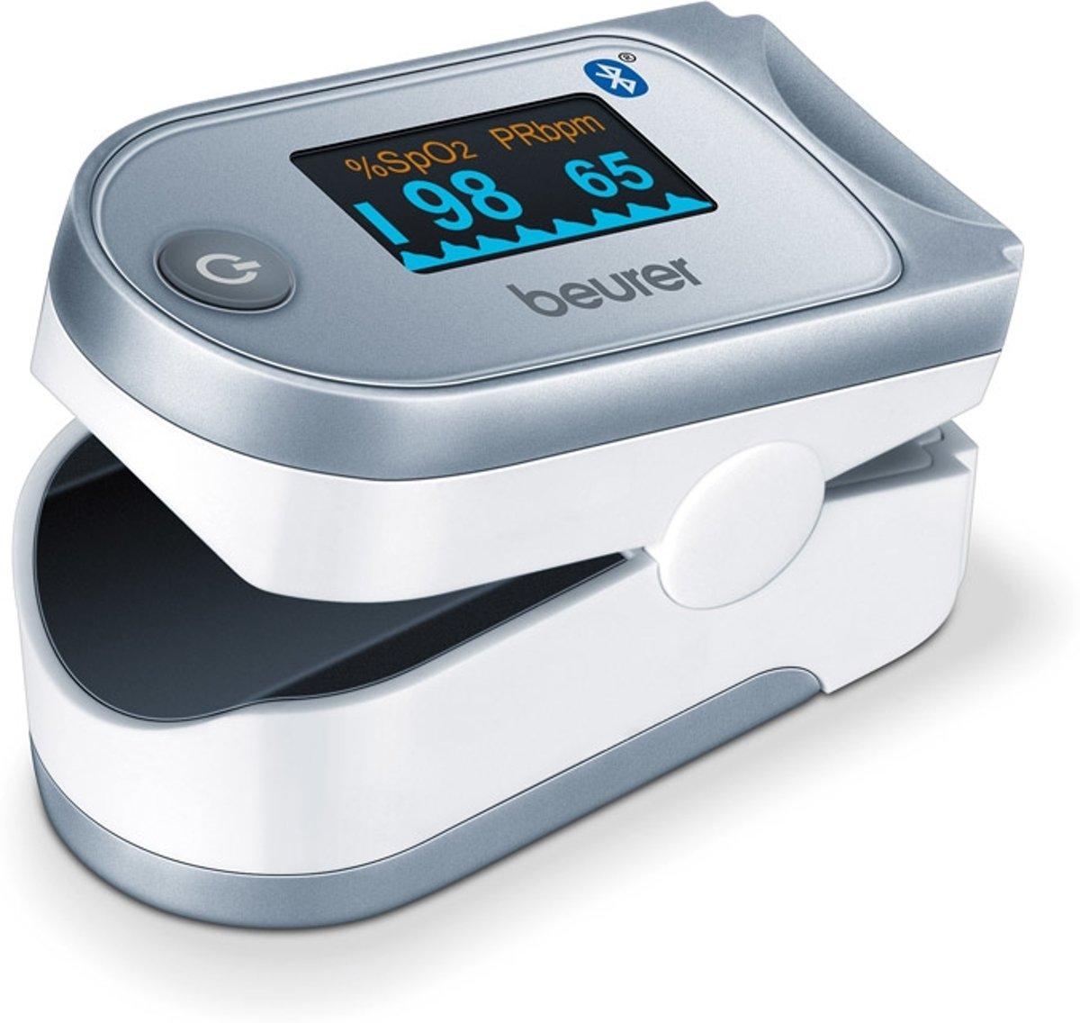 Beurer PO60 - Saturatiemeter/Pulseoximeter - Hartslagmeter - Bluetooth