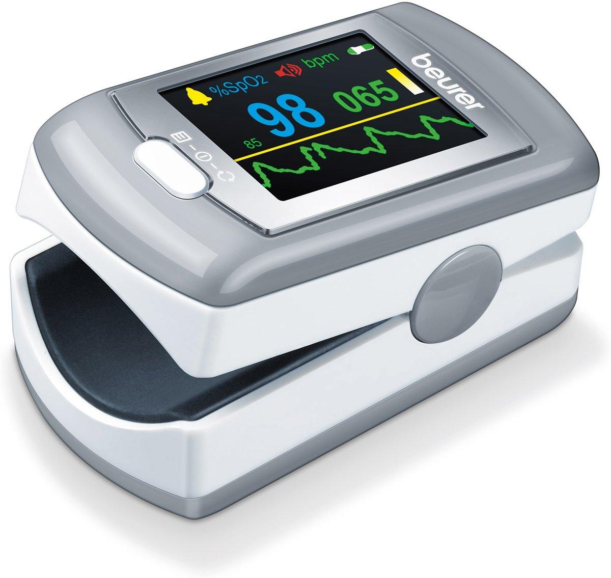 Beurer PO80 - Saturatiemeter/Pulseoximeter - Hartslagmeter - USB data-overdracht