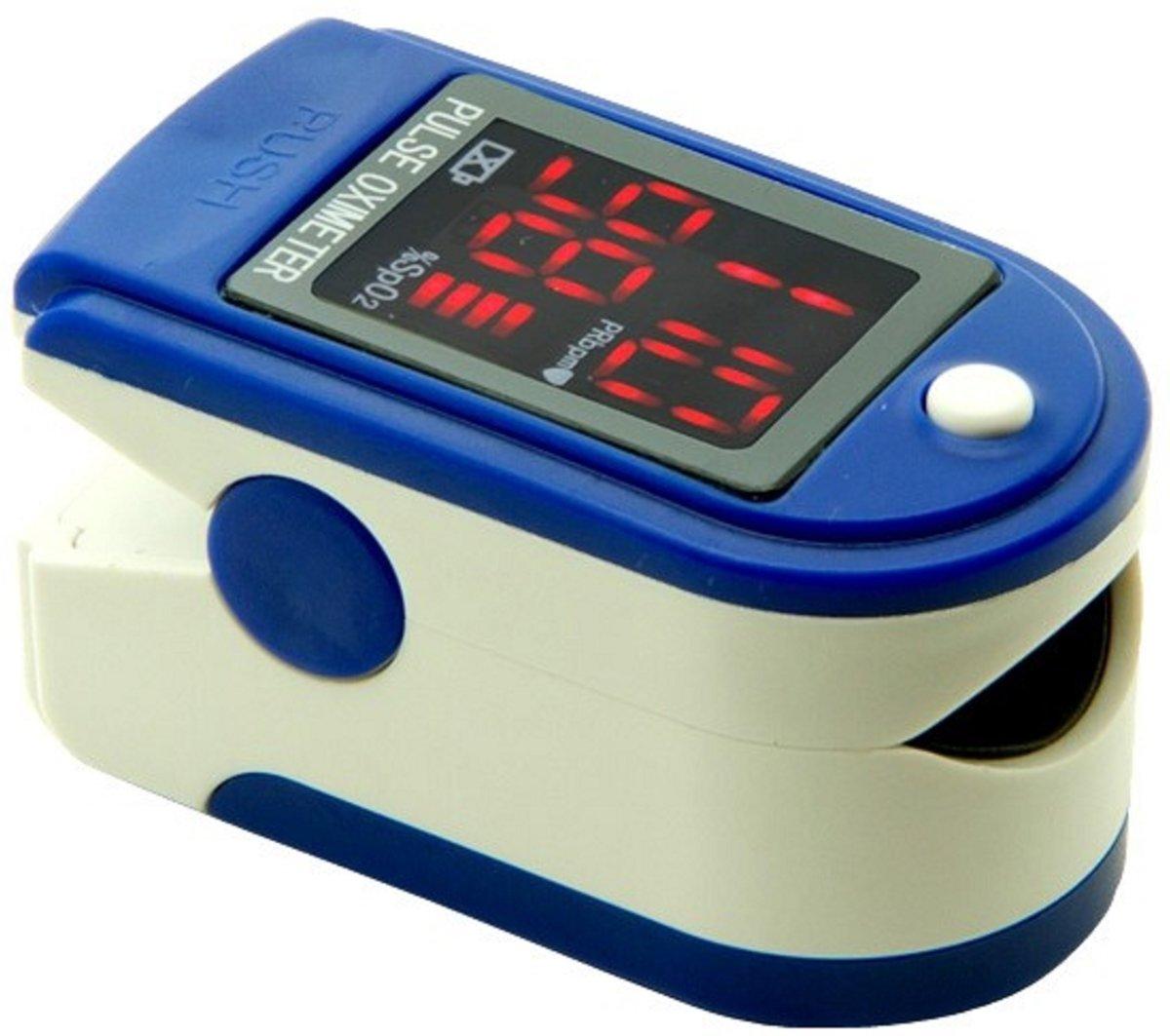 CMS 50DL saturatiemeter - Donkerblauw-Wit