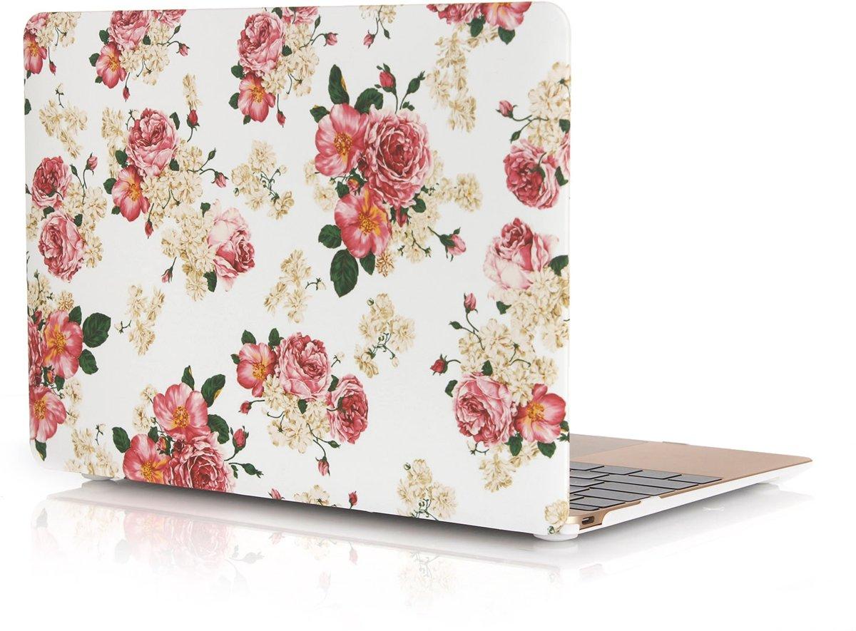 Xssive Macbook Case voor Macbook Air 11 inch - Laptoptas - Hard Case - Rozen