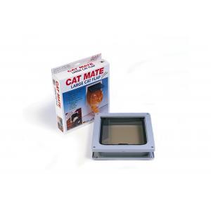 Cat Mate kattenluik groot met vierwegsluiting 50mm wit