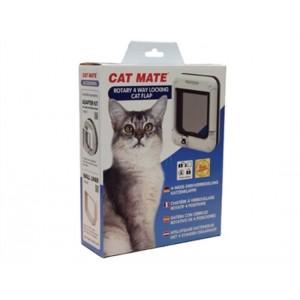 Cat Mate 4-way Rotary 358 Wit kattenluik Per stuk
