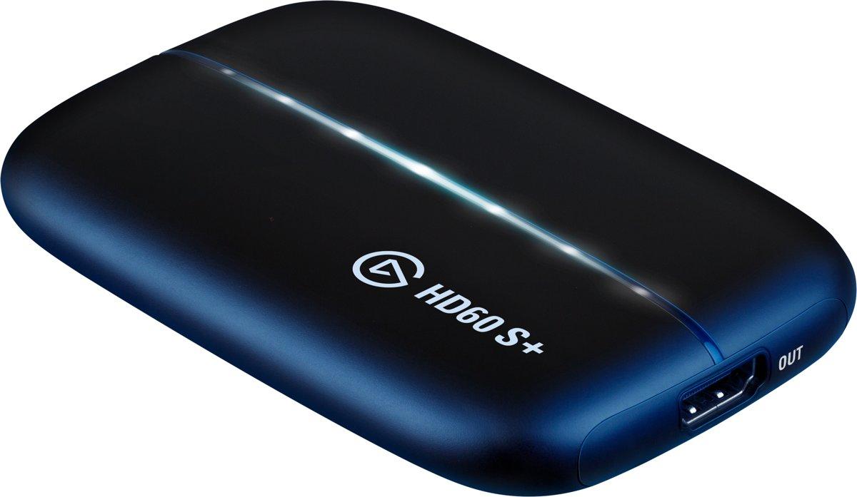 Elgato HD60 S+ - Extern - Game Capture Kaart - PS4 + Xbox One + Windows