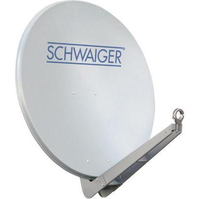 Schwaiger Satellietschotel 85 cm Reflectormateriaal: Aluminium Lichtgrijs
