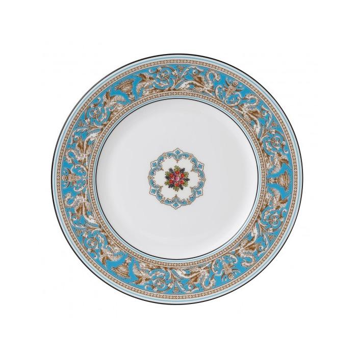 WEDGWOOD - Florentine Turquoise - Dinerbord 27cm