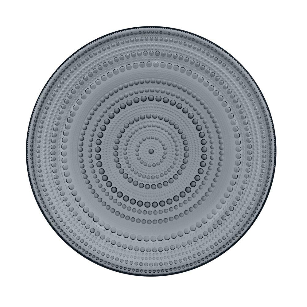 IITTALA - Kastehelmi - Plat bord 31,5cm Dark Grey