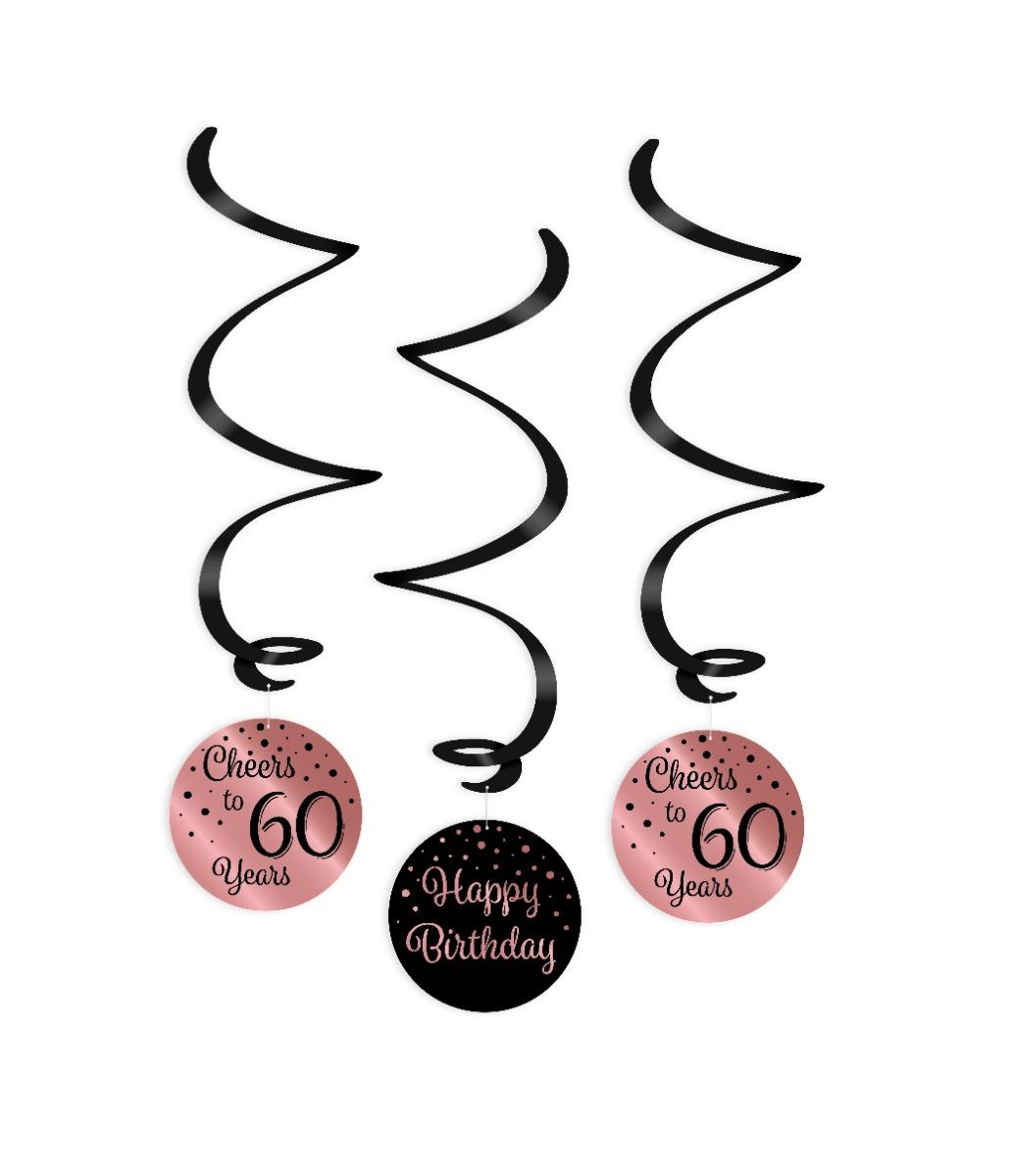 Paperdreams Swirlslingers roze/zwart 60